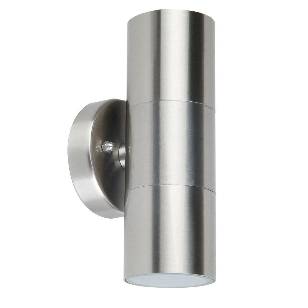 Wall Sconces That Shine Up And Down: Stainless Steel Up/Down Wall Pillar Spot Light
