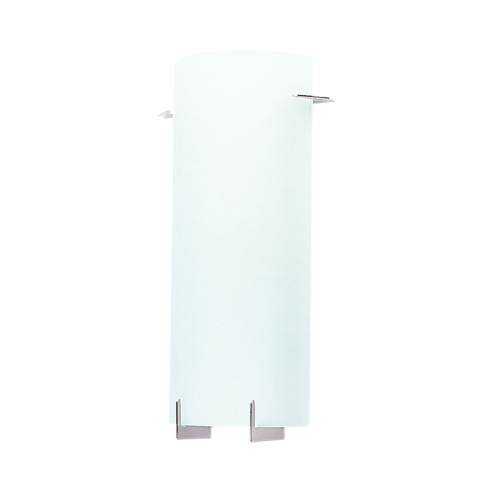 Wall Sconces Nyc: New York 2 Light Textured Glass Wall Light Brushed Chrome