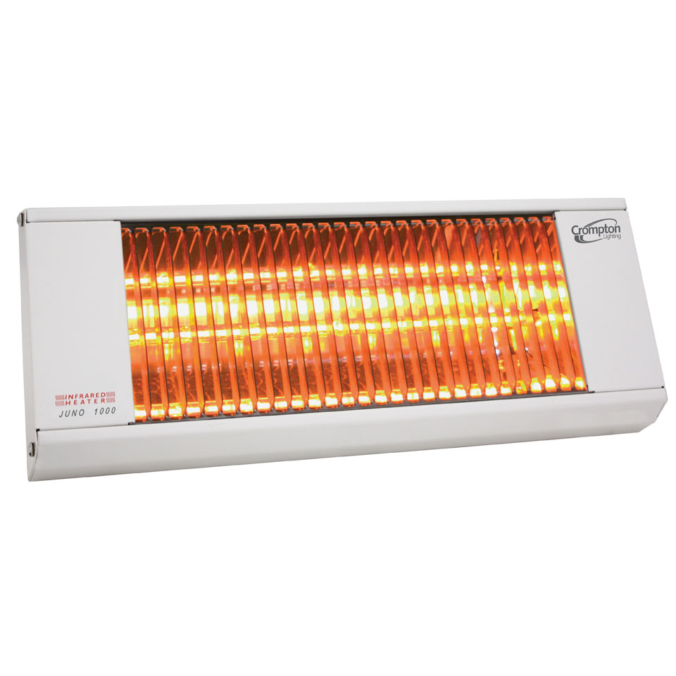 Juno 1000 Infrared Heater White Online Lighting
