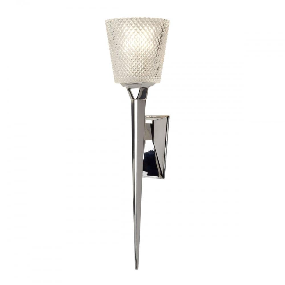 Verity 3.5W LED Bathroom Wall Light Polished Chrome / Warm White - BAT