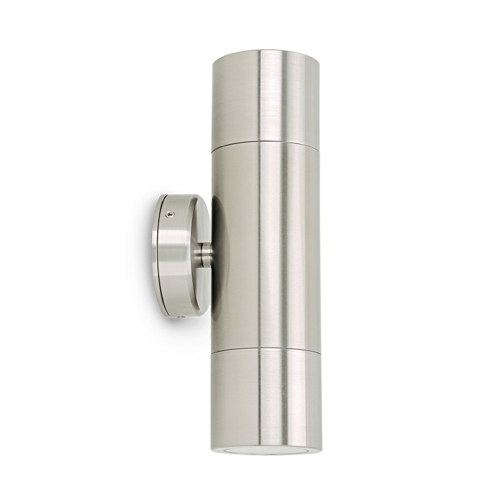 Wall Sconces That Shine Up And Down: 316 Stainless Steel Up/Down Wall Pillar Spot Light