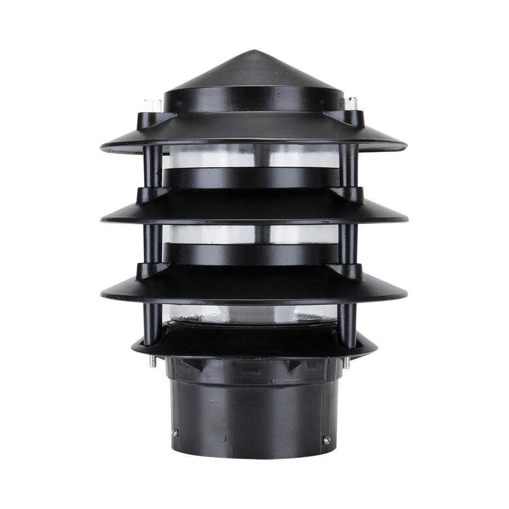 Pagoda Post Light Black - MXB1BLK
