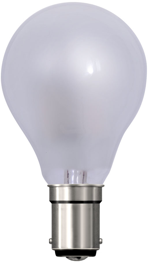 4 Watt Dimmable Frosted Fancy Round LED Light Bulb Small Bayonet Cap (B15)