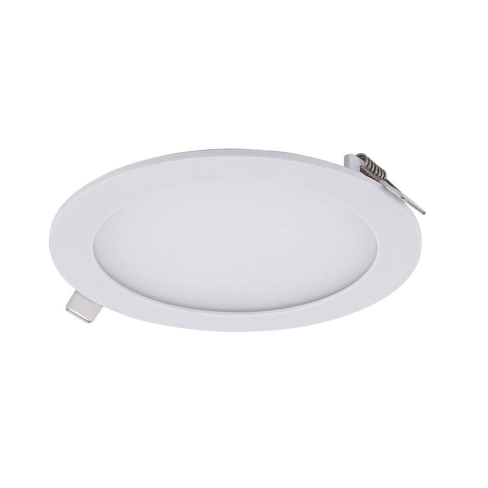 a3d7bacdd3 Round 12W Dimmable Recessed LED Panel White   Warm White - Slick-R3