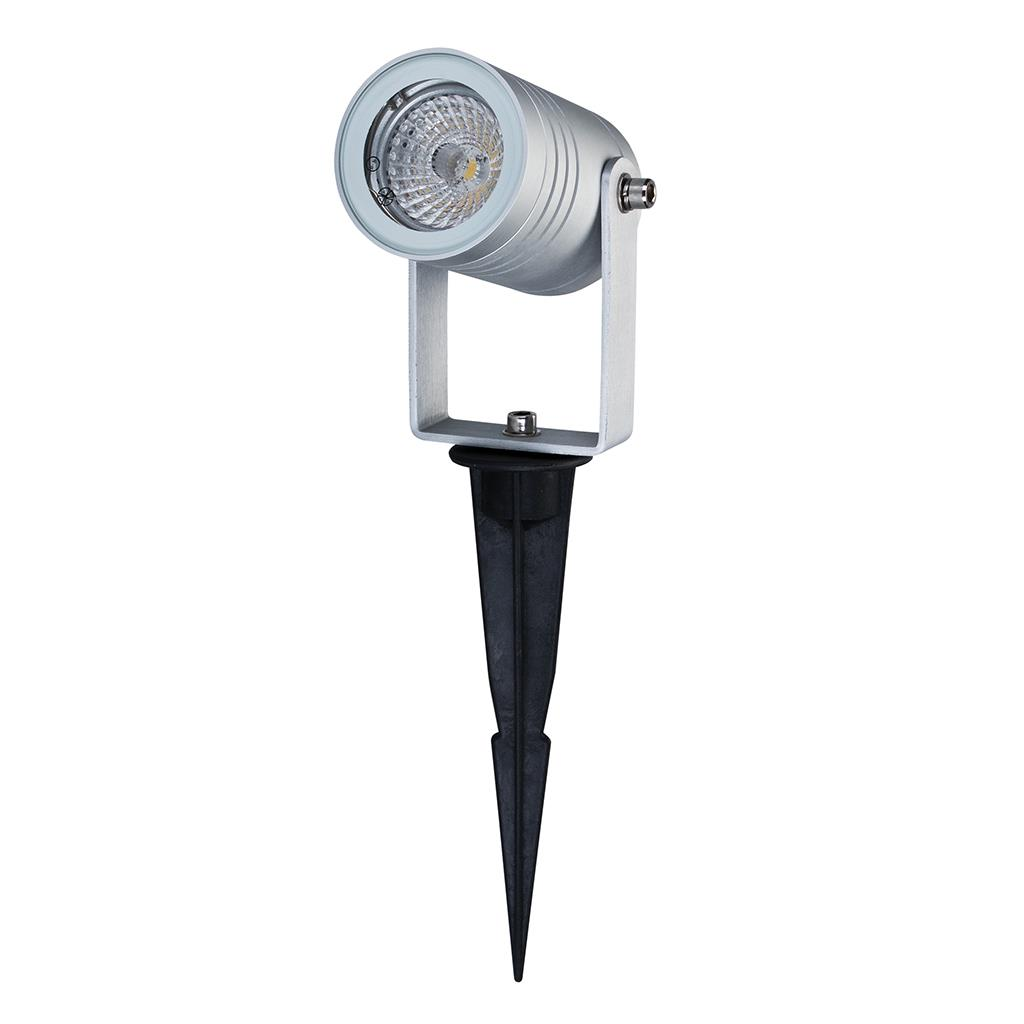 Elite spike 12v 6w led garden spike light anodised for 12v garden lights