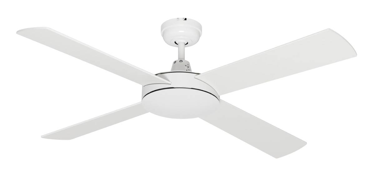 Caprice ceiling fan white 48 aloadofball Gallery