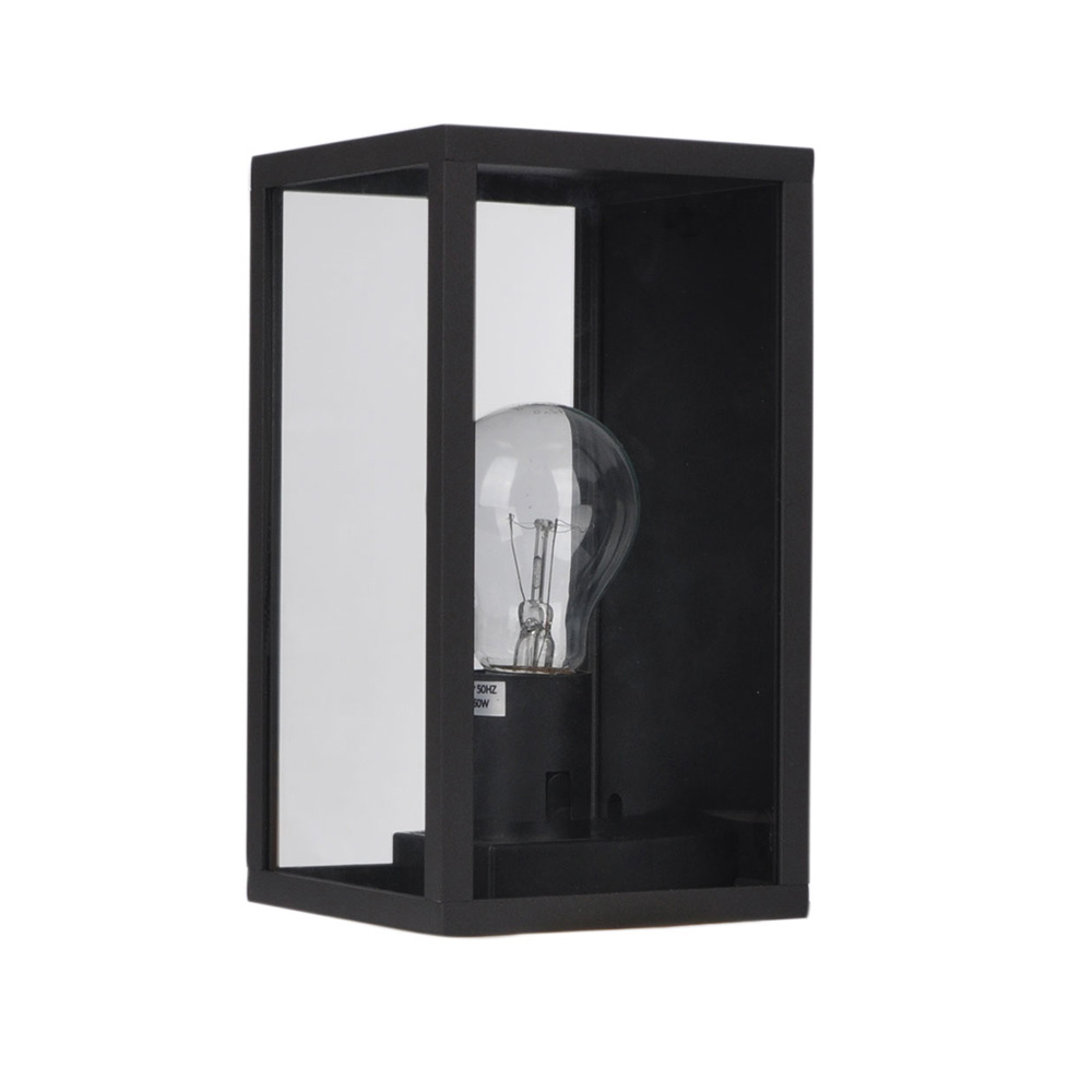 Pandora contemporary outdoor wall light textured black ol7843bk