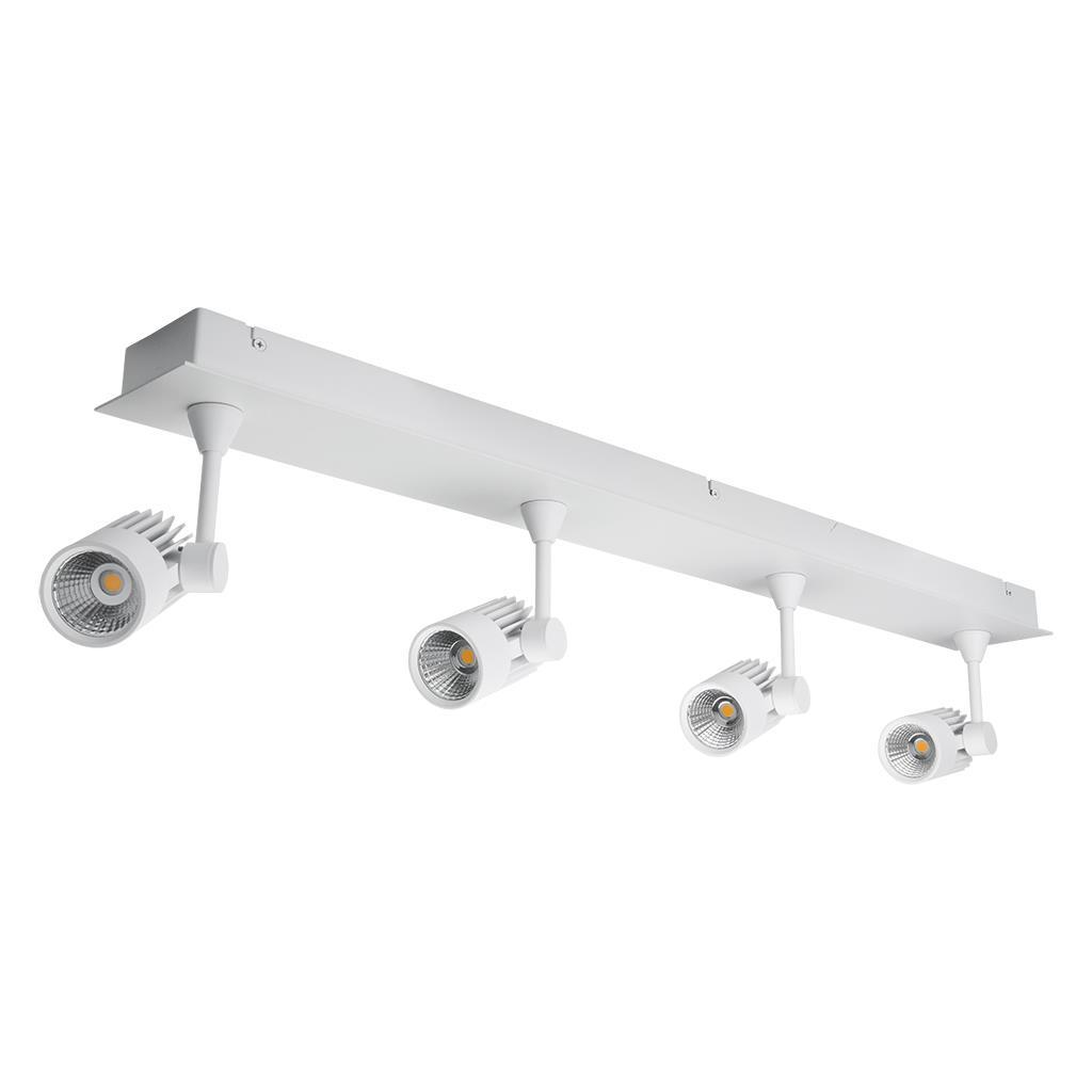 JET-4B Quad LED Bar Spotlight - White Finish | Online Lighting