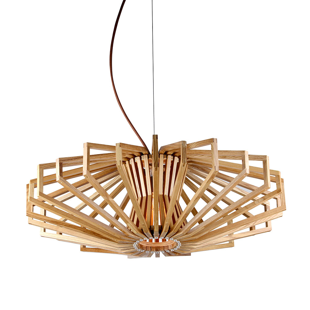 Agry 1 light wood veneer pendant mozeypictures Images
