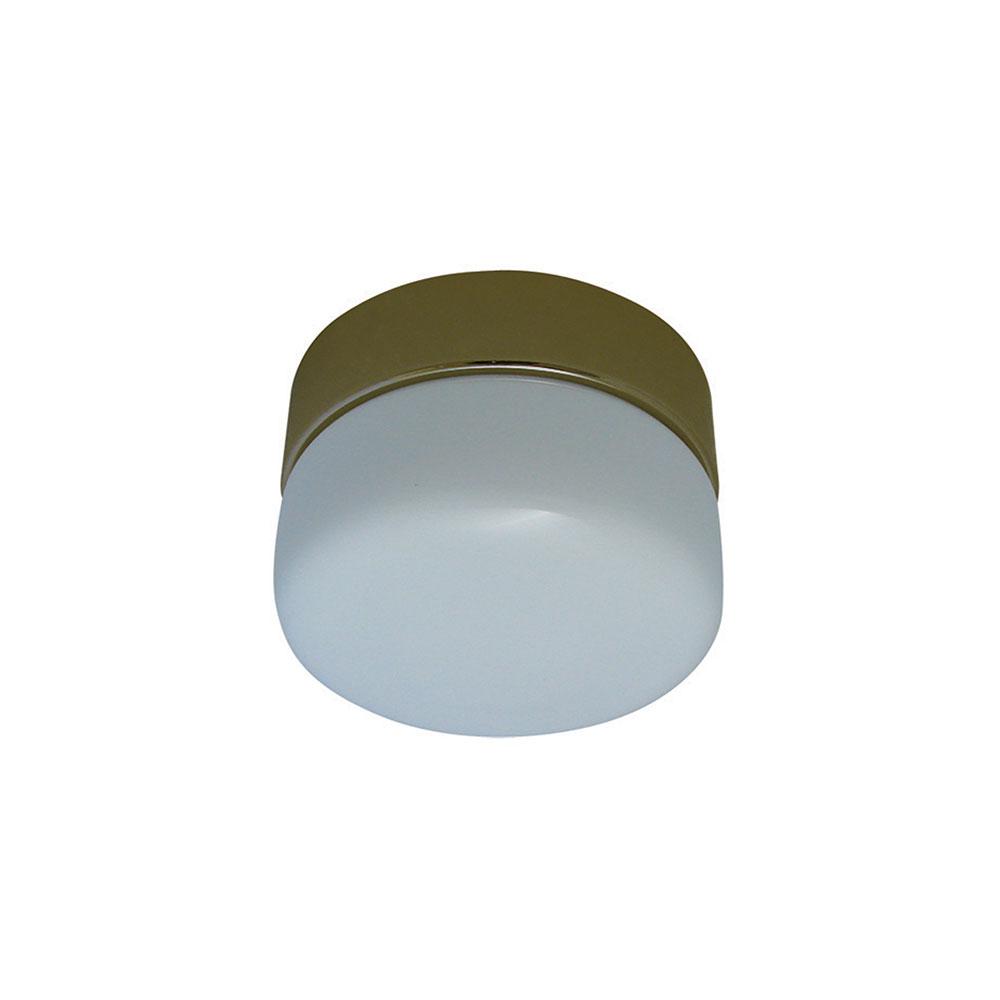Four Seasons Alpha Ceiling Fan Clipper Light Kit Antique Brass Fsl