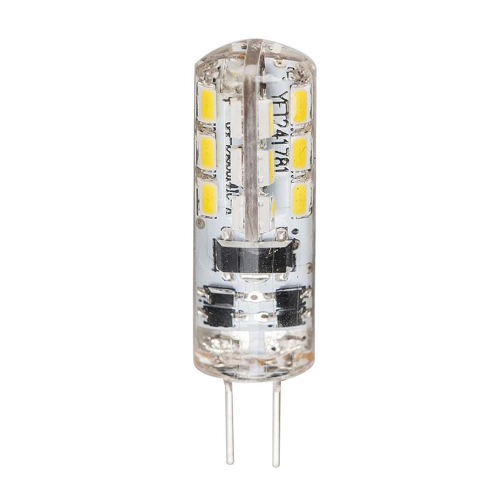 high output 1 5 watt 12v g4 bi pin led globe cool white hv9523 1 5. Black Bedroom Furniture Sets. Home Design Ideas