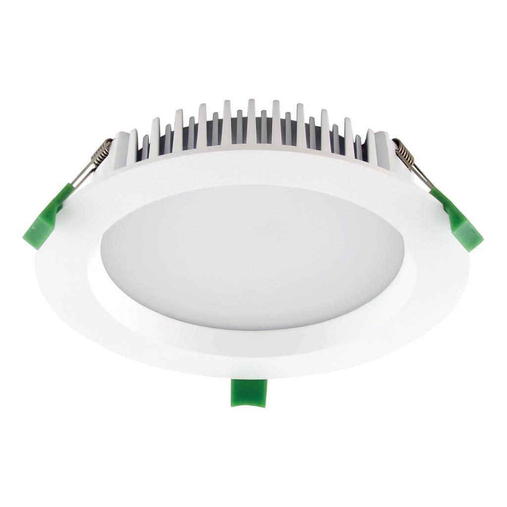 Deco 20 round 20w dimmable led downlight white frame - Downlight led 20w ...