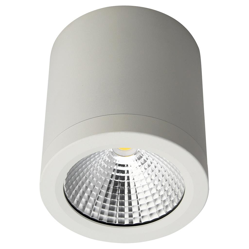 neo 13 watt dimmable surface mounted led downlight white. Black Bedroom Furniture Sets. Home Design Ideas