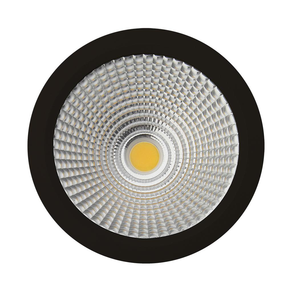 Neo 25 Watt Dimmable Surface Mounted Led Downlight Black