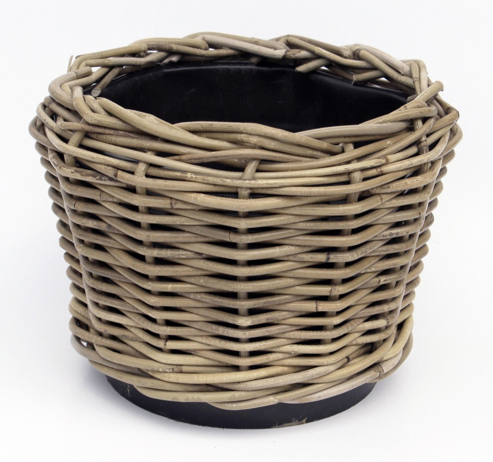 Basket Round Small With Rope