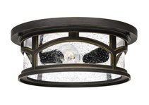Marblehead 2 Light Flush Mount Palladian Bronze - QZ/MARBLEHEAD/F