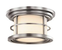Lighthouse Outdoor Flush Mount Brushed Steel - FE/LIGHTHOUSE/F