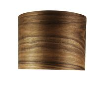 "Cocoa Wood 12"" Shade Only (OL91814)"