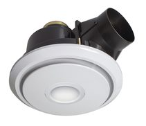 Boreal Large Exhaust Fan With 11W LED White / Cool White - 18249/05