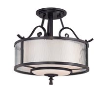 Adonis Semi Flush Dark Cherry - QZ/ADONIS/SF
