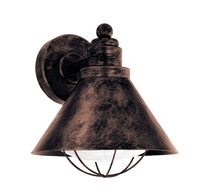 Barrosela Traditional Outdoor Wall Light Antique Copper - 94858