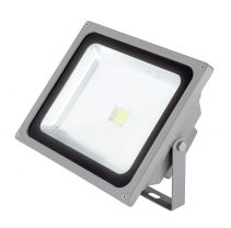 Rabger 50W LED Floodlight Grey / Cool White - 17348/08