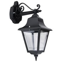 Paris Downward Wall Light Black - 15123