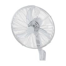 "Atlas White 16"" Wall Fan - FF22316WH"