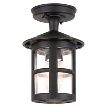 Hereford Porch Lantern Black - BL21A