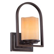 Aldora 1 Light Wall Light Palladian Bronze - QZ/ALDORA1