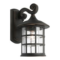 Coventry 1 Light Wall Light Large Bronze - COVE1ELGBRZ
