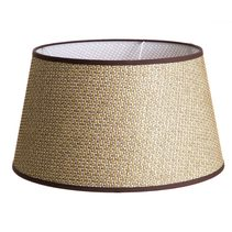 "Brown Basket Weave Shade 18"" x 14"" x 10"" - ELLE3806018BR"