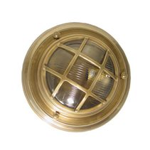 Jervis Porthole 1 Light Wall Lamp Brass - ELPIM59986AB