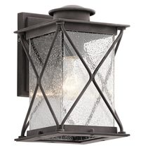 Argyle Small Outdoor Wall Light Weathered Zinc - KL/ARGYLE2/S