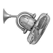 Kaye Oscillating Fan Metal Blades With Cage Brushed Nickel - KA-BN