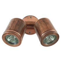 Twin Wall Spot 240V Retro Copper - TWS/R/COP