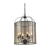 Upton Large Pendant Oil Rubbed Bronze - LUM.UPTON6.ORB