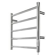 Heated Towel Rail With DIY Wiring Chrome - 20796/16