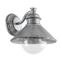 Albacete 1 Light Exterior Wall Light Antique Silver - 96263