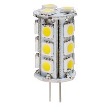 High Output 1.4W 12V DC G4 Bi Pin LED Globe / Cool White - HV9523