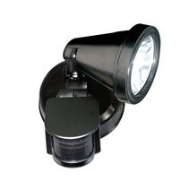 Magneto Single G9 Exterior Spotlight with Sensor Black - Magneto 1S-BK