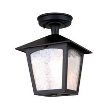 York Porch Lantern Black - BL6A