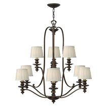 Dunhill 9 Light Chandelier Royal Bronze - HK/DUNHILL9
