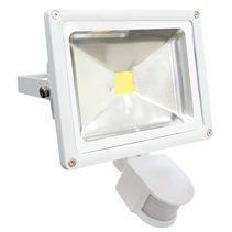 LED 20W Floodlight With Sensor White - FL20WS