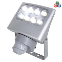 Smart Single LED Floodlight With Sensor Silver - FLLED6170S