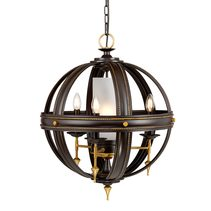 Regal 4 Light Chandelier Oil Rubbed Bronze / Gold - REGAL4