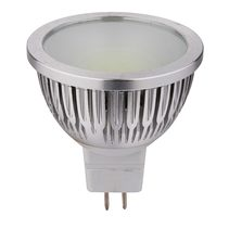 High Output 5W 12V DC MR16 COB LED Globe / Cool White - HV9557C