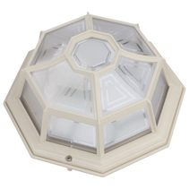 Vienna B22 240V Flush Mount Light Beige - 15944