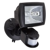 Floodlight With Sensor Black - QLB150S/BLK