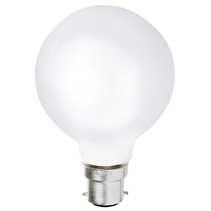 Halogen G80 42W BC Opal Spherical Lamp